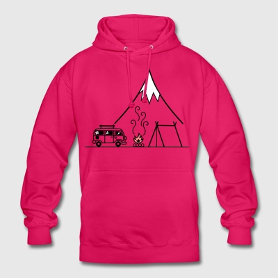 Campfire Camping Trip - Unisex Hoodie