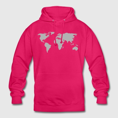 world map 146505 - Unisex Hoodie