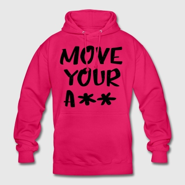 Move your ass - sportief - Hoodie unisex