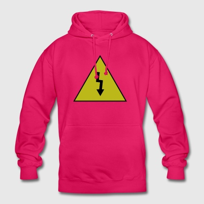electricity danger signal - Unisex Hoodie