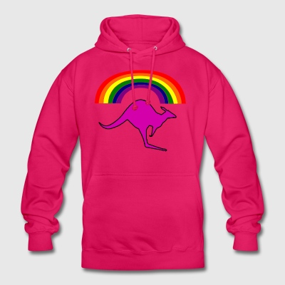 astrailia gay - Sweat-shirt à capuche unisexe