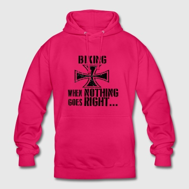 If everything goes wrong iron cross iron cross - Unisex Hoodie