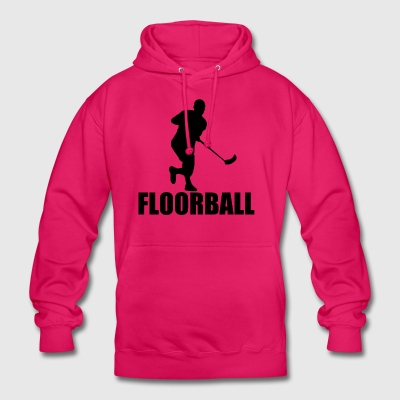 Floorball - Sweat-shirt à capuche unisexe