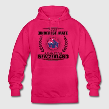 Never Underestimate Man Roots NEW ZEALAND png - Unisex Hoodie