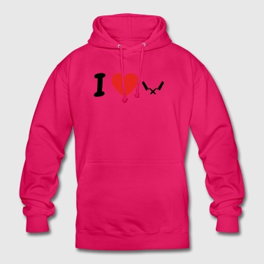 I love bricklayer png - Unisex Hoodie