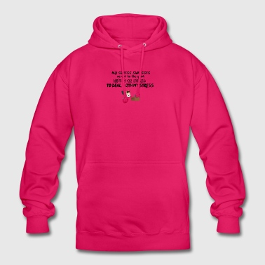 My stress stresses me out - Unisex Hoodie