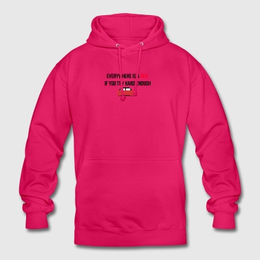 Everywhere is a bed - Unisex Hoodie
