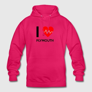I Love Plymouth - I love Plymouth - Unisex Hoodie