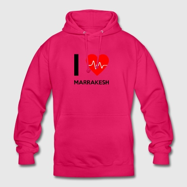 I Love Marrakech - I Love Marrakech - Sweat-shirt à capuche unisexe