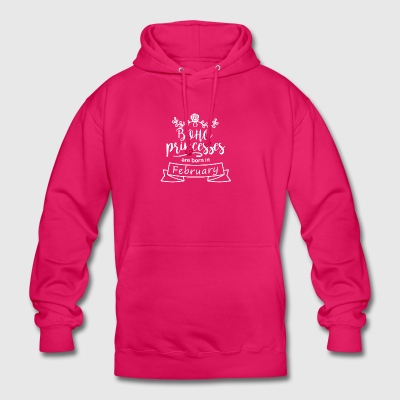 Boho Princesses are born in February - Unisex Hoodie