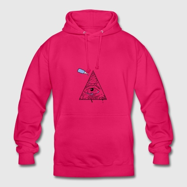 All Seeing Eye - Sweat-shirt à capuche unisexe