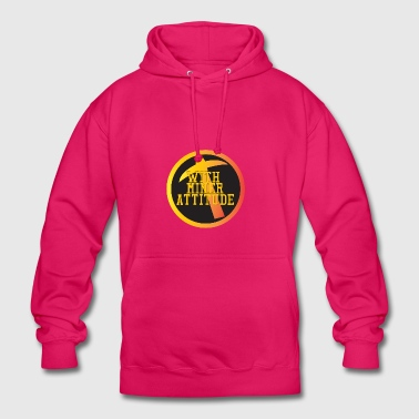 Mining Miner With Attitude - Unisex Hoodie