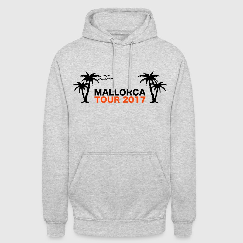 Mallorca Tour 2017 - Sweat-shirt à capuche unisexe