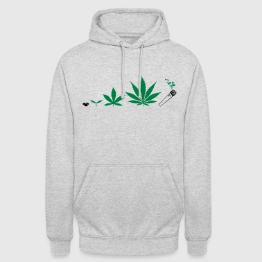 Cannabis development - Sweat-shirt à capuche unisexe