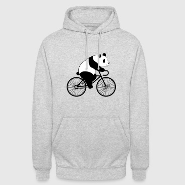 Panda Bicycle - Sweat-shirt à capuche unisexe