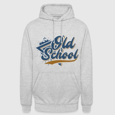 Old School - Sweat-shirt à capuche unisexe