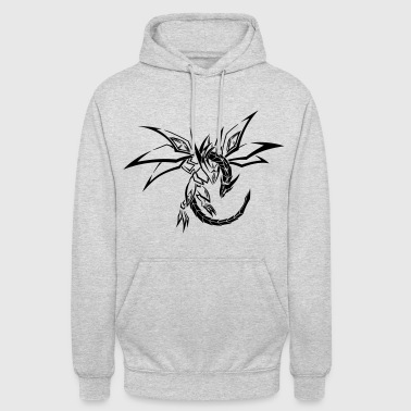 Tribal Dragon Dragon Tribal - Unisex Hoodie