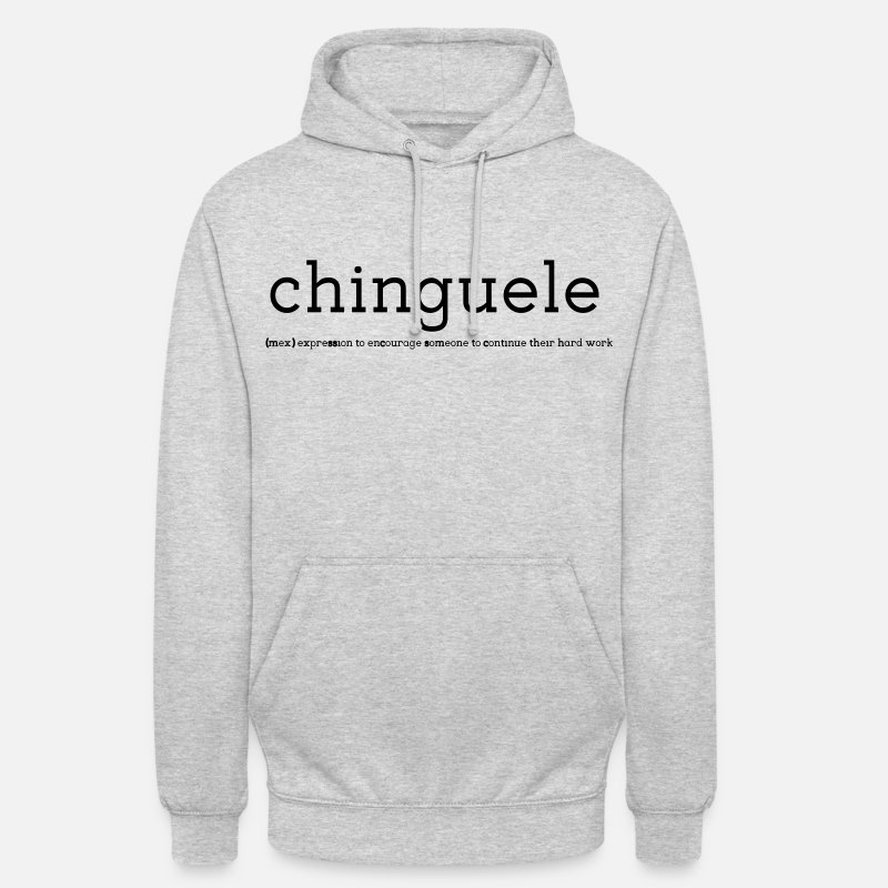 Body Building Hoodies & Sweatshirts - Chinguele Crossfit Hoodies & Sweatshirts - Unisex Hoodie heather grey
