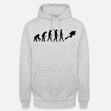 Diving Evolution diving b - Sweat-shirt à capuche unisexe