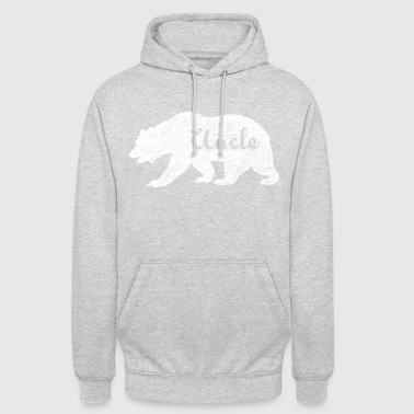 Uncle Bear. Gifts for uncles. Camping. Wildlife. - Unisex Hoodie
