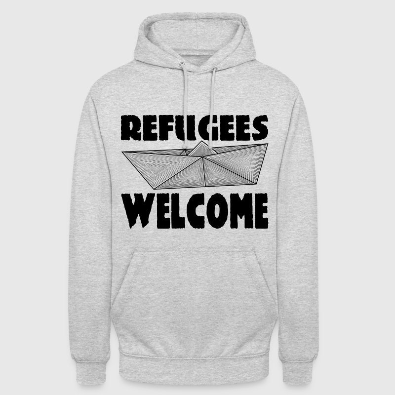 REFUGEES WELCOME! - Unisex Hoodie