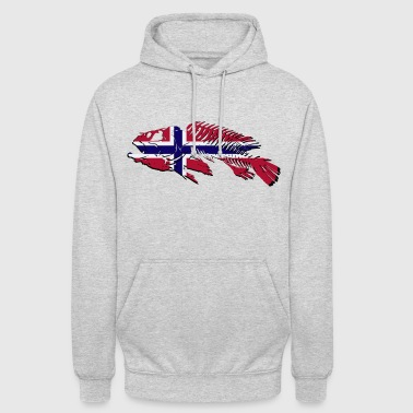 Norway Fishing - Unisex Hoodie