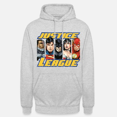 Officialbrands DC Comics Justice League Superhelden - Unisex Hoodie