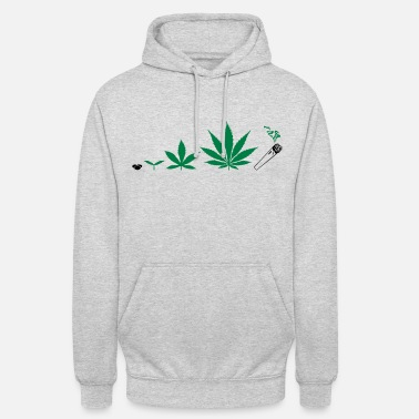Cannabis Cannabis development - Sweat-shirt à capuche unisexe