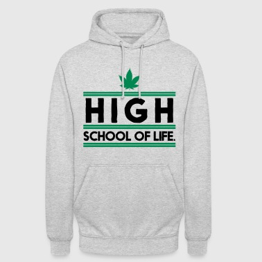 Highschool of Life. - Bluza z kapturem typu unisex