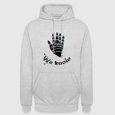 we know - Skyrim, Dark brotherhood - Unisex Hoodie
