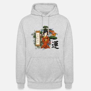 Blossom Honor of Japan - Unisex Hoodie