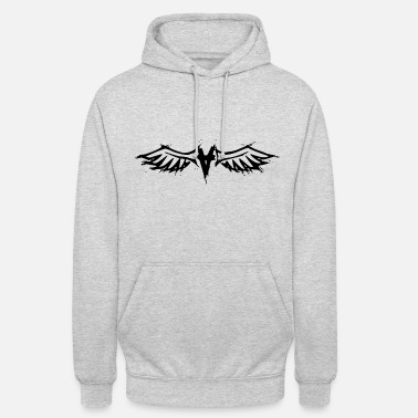 Ange Artistic Angel - Sweat-shirt à capuche unisexe