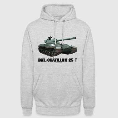 World of Tanks Bat.-Châtillon 25T Men Hoodie - Bluza z kapturem typu unisex