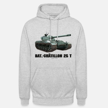 World World of Tanks - Bat.-Châtillon 25 T - Unisex Hoodie