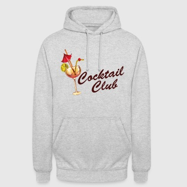 Teenager Cocktail Club - Freunde Drinking Shirt - Unisex Hoodie