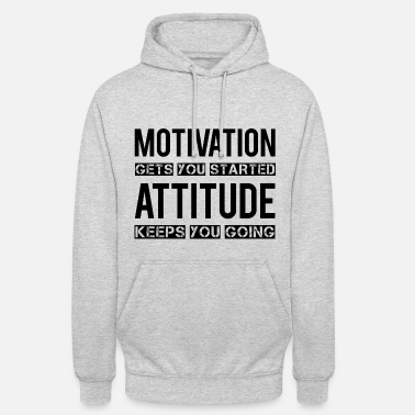 Motivation Motivation - Bluza z kapturem typu unisex
