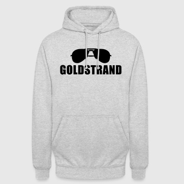 Coole Goldstrand Sonnenbrille - Unisex Hoodie