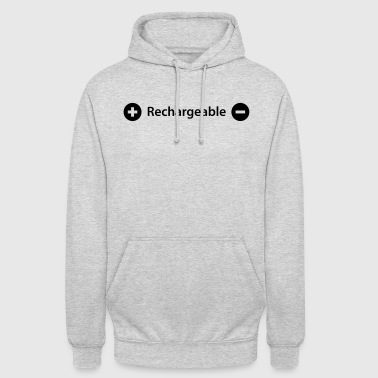 rechargeable - Unisex Hoodie