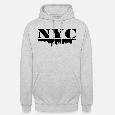 Nyc NYC - Sweat-shirt à capuche unisexe