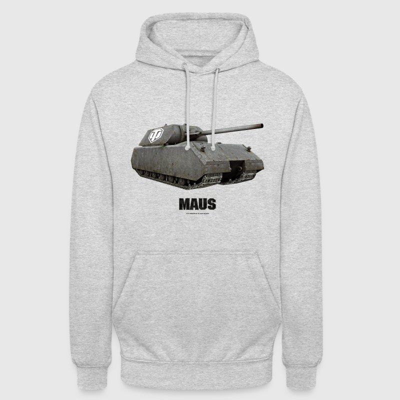 World of Tanks - Maus - Sweat-shirt à capuche unisexe