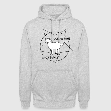 FOLLOW THE WHITE GOAT - Unisex Hoodie