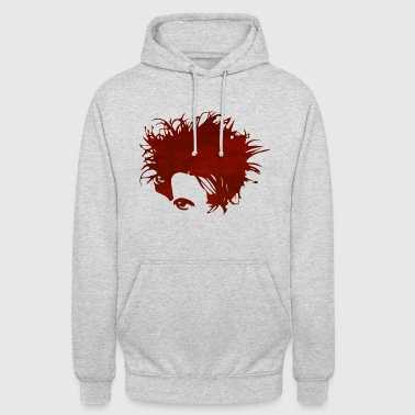 robert red watercolor - Unisex Hoodie