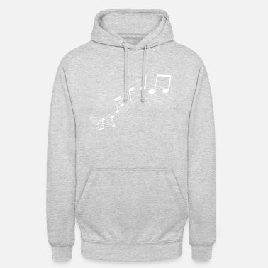 Music Music notes music notes - Unisex Hoodie