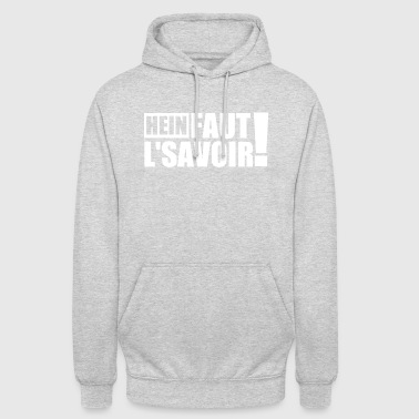 KNOW THE KNOW - Unisex Hoodie