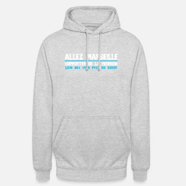 Island Collection ALLEZ MARSEILLE Supporter of Reunion - Unisex Hoodie