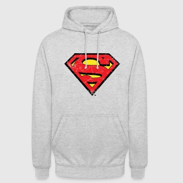 DC Comics Superman Logo Used Look - Unisex Hoodie