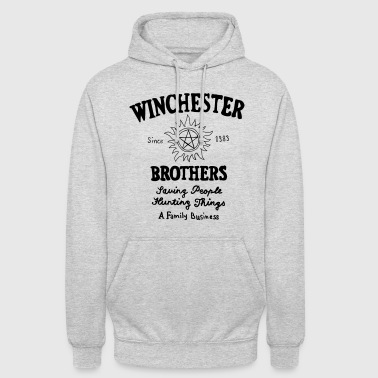 Supernatural Winchester Brothers - Sweat-shirt à capuche unisexe