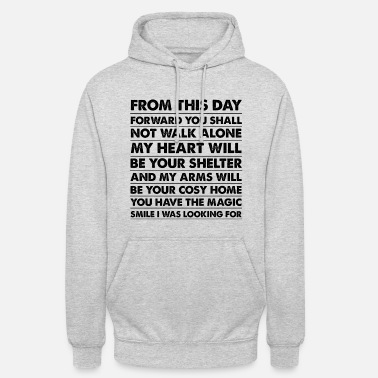 Boyfriend Girlfriend Gifts for Husband, Wife, Boyfriend or Girlfriend - Unisex Hoodie