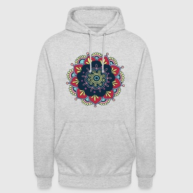 Colorful Mandala! - Luvtröja unisex
