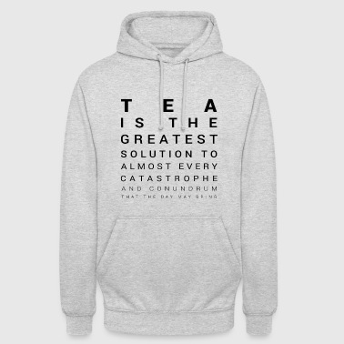 Tea Tea is the solution - Unisex Hoodie